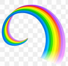 Rainbow Line Clipart - Rainbow Clip Art PNG