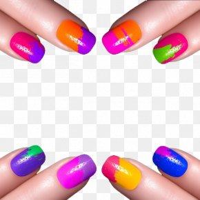 Nail - Nail Art Nail Polish Gel Nails Ultraviolet PNG