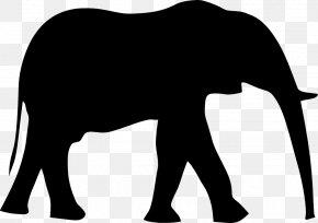 Elephant Clip - Indian Elephant Clip Art PNG