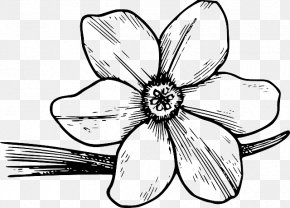 Bloom Vegetation - Clip Art Coloring Book Flower Colouring Pages Drawing PNG