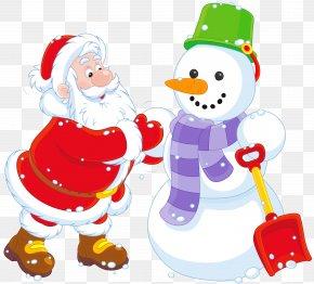 Snowman - Santa Claus Rudolph Snowman Christmas Clip Art PNG