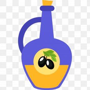 The Juice In The Bottle - Orange Juice Fruit Bottle PNG