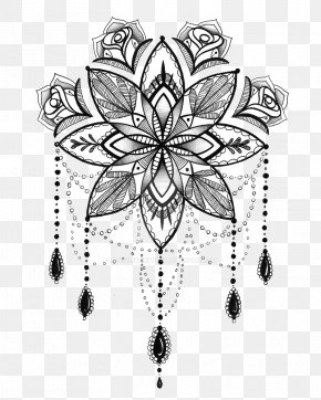 Henna - Tattoo Mandala Henna Drawing PNG