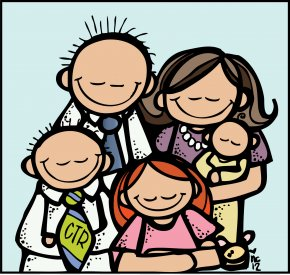 Family Picture Images - Family Temple Clip Art PNG