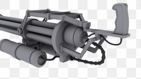 Weapon - Minigun Weapon Machine Gun What I Got PNG