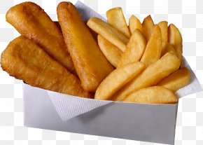 Fries - Fish And Chips Hamburger French Fries Fast Food Potato Wedges PNG