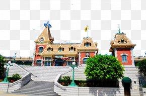 Disneyland - Hong Kong Disneyland Tokyo Disneyland Disney California Adventure Shanghai Disneyland Park PNG