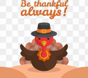 Bird Witch Hat - Thanksgiving Turkey PNG