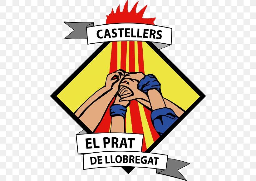 Colla Castellera Castellers Del Prat De Llobregat Castellers De Barcelona Coordinadora De Colles Castelleres De Catalunya, PNG, 500x580px, Castell, Area, Artwork, Brand, El Prat De Llobregat Download Free