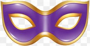 Carnival Mask Purple Transparent Clip Art Image - Mask Carnival Clip Art PNG