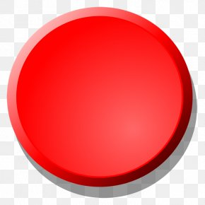 Button - Red Circle PNG
