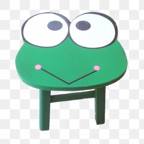 Frog Stool - The Frog Prince Cartoon Stool PNG