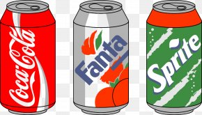 Vector Canned Coca Cola - Coca-Cola Soft Drink Clip Art PNG