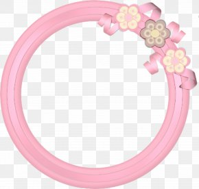 Oval Pink - Pink Circle PNG