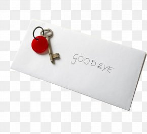 Envelope Handwritten Goodbye - Brand Rectangle Font PNG