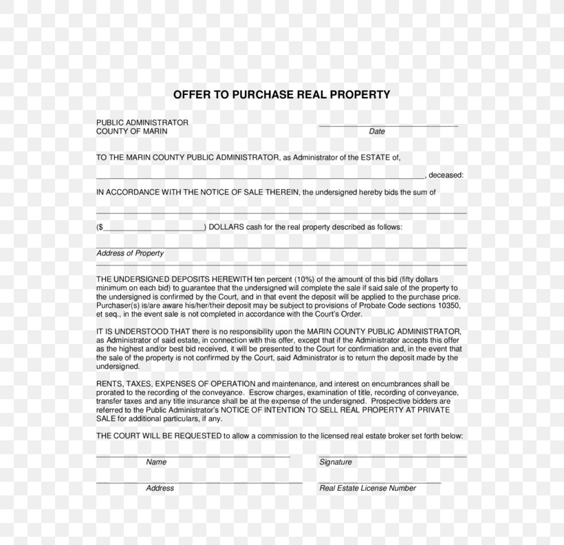 Document Real Estate Contract Purchase And Sale Agreement Real Property, PNG, 612x792px, Document, Area, California, Contract, Deed Download Free