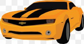 Camaro Vector - Chevrolet Camaro Car Motor Vehicle Bumper PNG