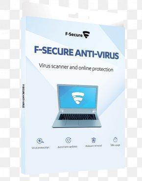 Anti Virus - F-Secure Anti-Virus Antivirus Software Computer Virus Computer Security PNG