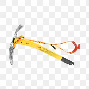 Ice Axe - Grivel Ice Axe Technology Mountaineering Hammer PNG