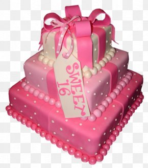 Cake Sweet 16 Picture - Birthday Cake Wedding Cake Cupcake Sweet Sixteen PNG