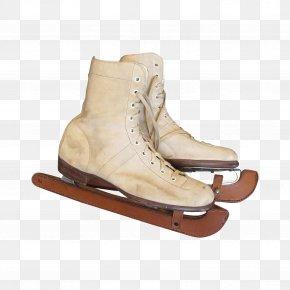 Boot - Boot Shoe Beige PNG