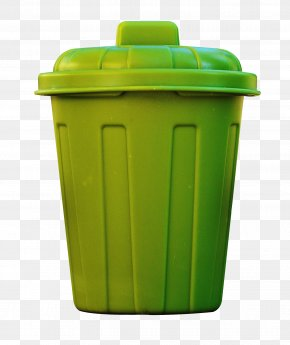 Green Bins - Waste Container Recycling Bin PNG