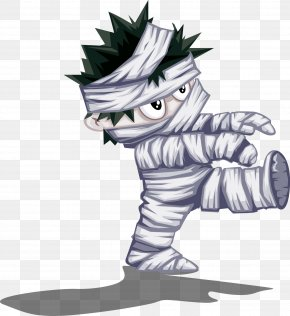 Halloween Mummy Vector Material Imp - Halloween Clip Art PNG