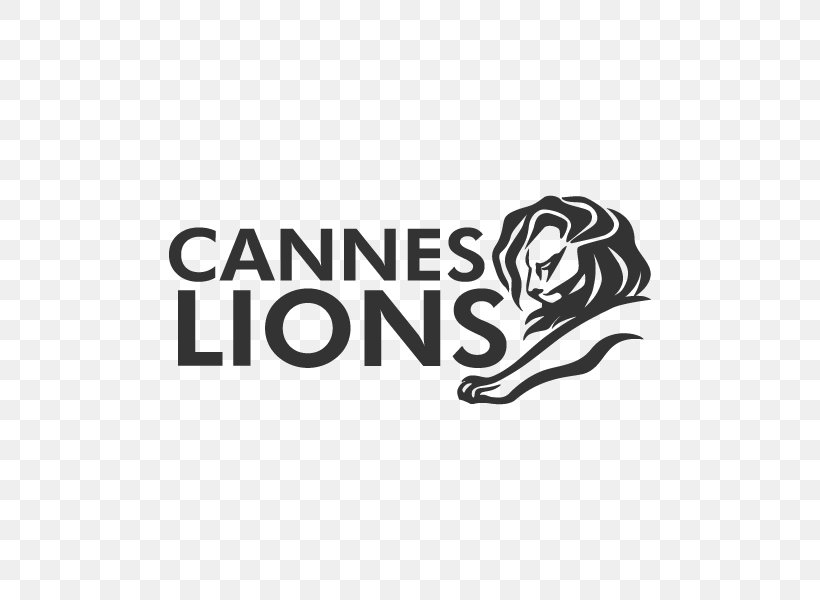 Cannes Lions International Festival Of Creativity Logo Brand Mammal Png 600x600px Cannes Black Black And White