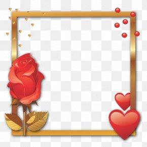 Valentine's Day - Picture Frames Valentine's Day Heart Decorative Arts Convite PNG
