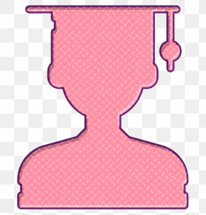 Pink Academy Icon - Student Icon Academy Icon PNG