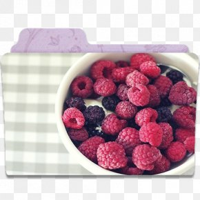 Folder Raspberry - Superfood Frutti Di Bosco Fruit Blackberry PNG