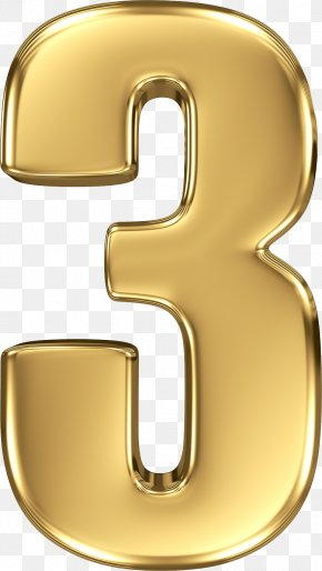 Number 3 - Number Icon Clip Art PNG