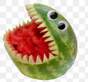 Watermelon - Watermelon Fruit Eating Food Carving PNG
