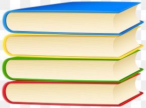 Books Clip Art Image - Shelf Angle PNG