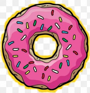 Donuts Homer Simpson Frosting & Icing Drawing Clip Art PNG