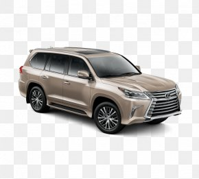 Car - 2018 Lexus LX Sport Utility Vehicle Car Toyota PNG