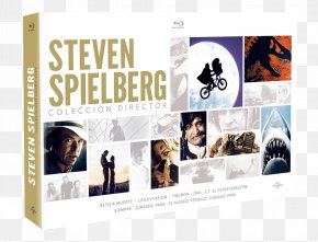 Steven Spielberg - Blu-ray Disc Film Director Television Box Set PNG