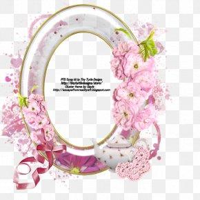 Teatime - Picture Frames Floral Design Copyright Font PNG