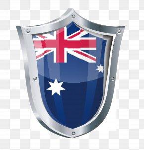 Flag Shield - Flag Of Australia Clip Art PNG