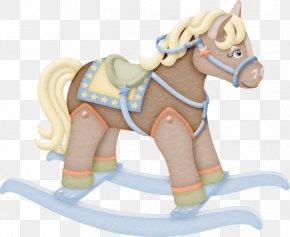 Maternal Child Cartoon Horse - Baby Shower Clip Art PNG