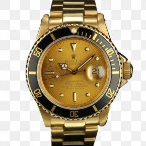 Watch - Rolex Submariner Rolex Datejust Rolex Daytona Watch Gold PNG