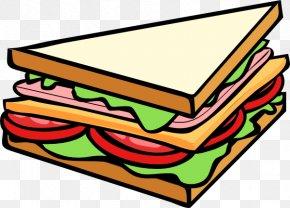 Sub Cliparts - Submarine Sandwich Club Sandwich Breakfast Sandwich Delicatessen PNG
