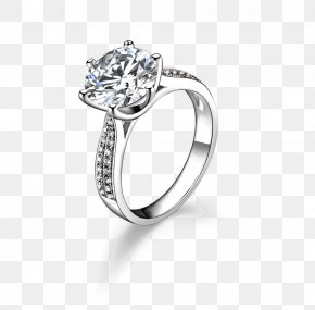 Jewelry Cartoon Pictures,Exquisite Diamond Ring - Gemological Institute Of America Wedding Ring Diamond Jewellery PNG