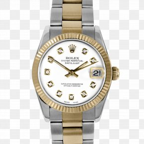 Rolex - Rolex Datejust Watch Diamond Luneta PNG