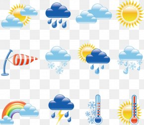 Weather Forecast Element - Weather And Climate Icon PNG