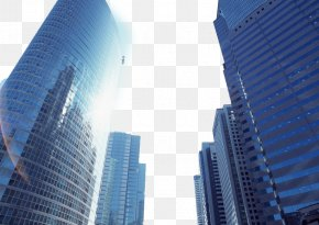 A City High-rise Building - Business Building Industry Elevator Company PNG