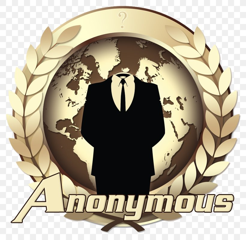 Anonymous Logo Anonymity, PNG, 800x800px, Anonymous, Anonymity, Brand, Hacker, Logo Download Free