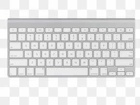 Keyboard - Computer Keyboard Apple Wireless Mouse Macintosh Magic Mouse Computer Mouse PNG
