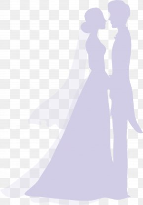 Silhouette Marriage - Marriage Silhouette Wedding PNG