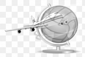Airplane - Airplane Aircraft Flight Globe Clip Art PNG